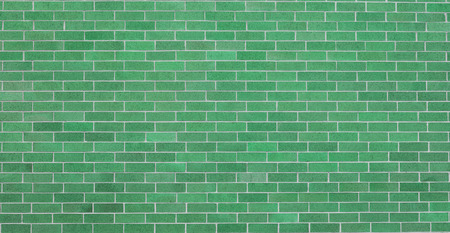 Green Brick wall Фото со стока