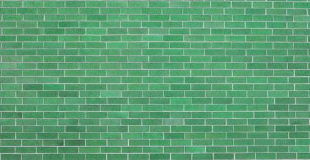 Green Brick wall 写真素材