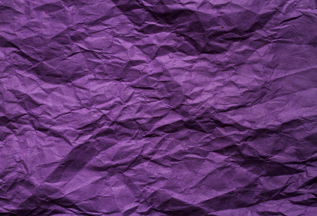 Purple crumpled paper background