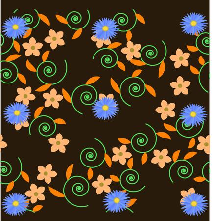 subject matter: flower background vintage