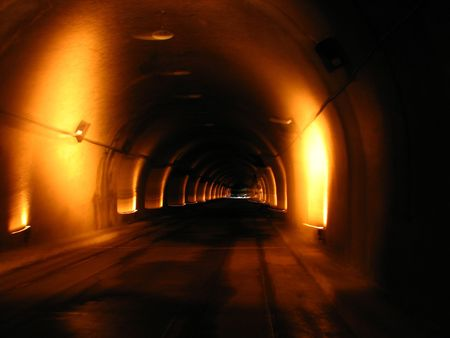 tunnel vision: Tunnel Vision Stock Photo