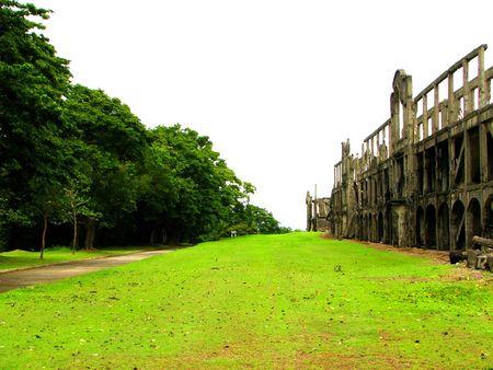 barracks: US Barracks Ruins Corregidor WWII
