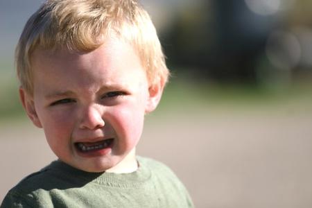 Temper tantrum photo