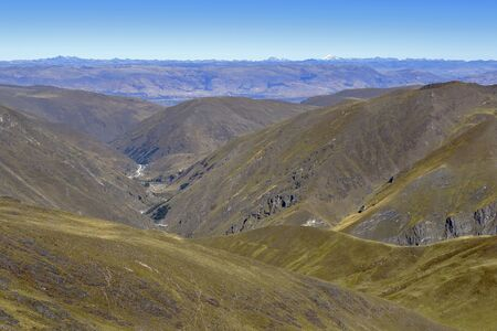 Mountains of the central mountain range of the Peruvian Andes Reklamní fotografie