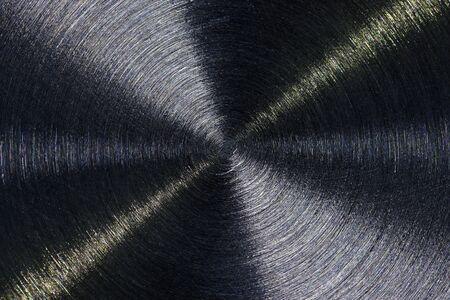 Metallic texture with a thin circular pattern