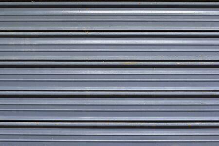 Metal texture of roller door Imagens