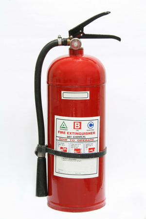 pressurized: fire extinguisher