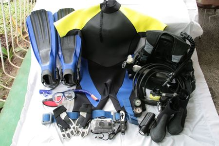 diving gear and equipment