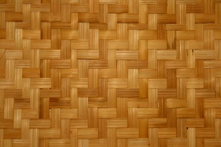 woven bamboo material for making baskets and trays