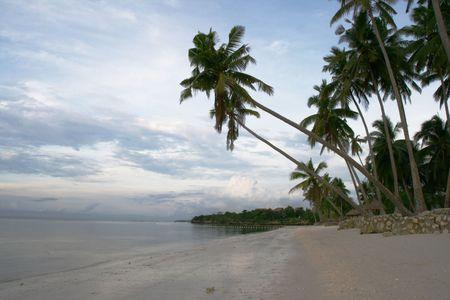 tropical paradise resort Stock Photo