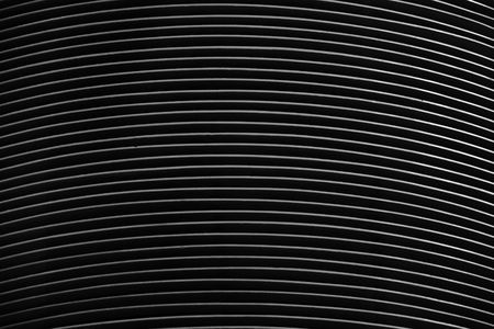 circular shaped aircon ventilation creating a striped background  Stock Photo