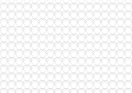 ordered: a texture made of heards in black with white background