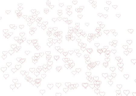 bedlam: a texture made of heards in black with white background