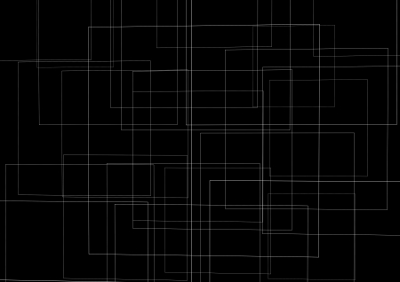a texture made of squares in black and white Stock Photo