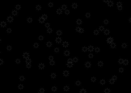 bedlam: a texture made of stars in black and white