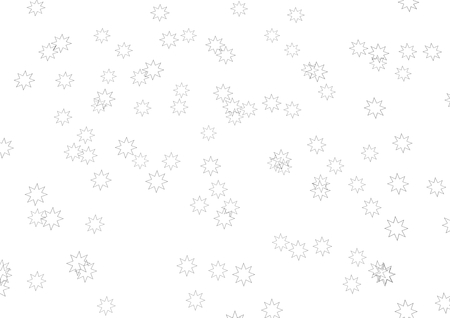 isoliert: a texture made of stars in black and white