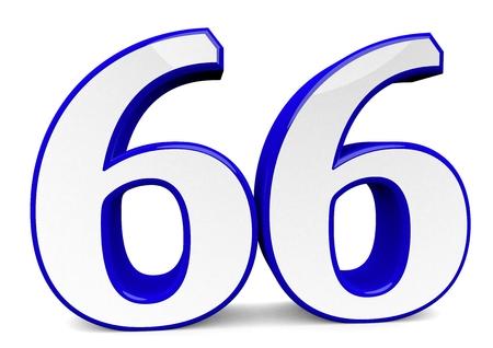 큰 파란색 숫자 스톡 콘텐츠 - 96140670