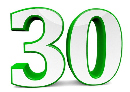 big green number 30