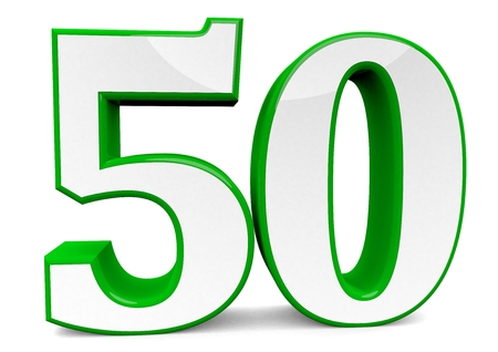 big green number 50