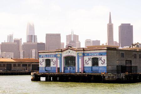 View of the pier 31 in san francisco Zdjęcie Seryjne