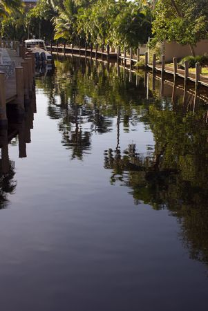 Florida Residential Canal and Motor Boat