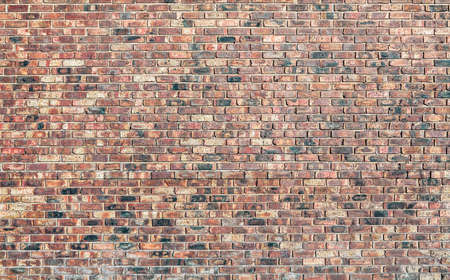 brick work: A brick wall with perfect brick work