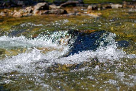A river flowing over rocks Reklamní fotografie
