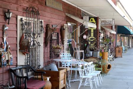 Stoep Weergave van Antique Shop