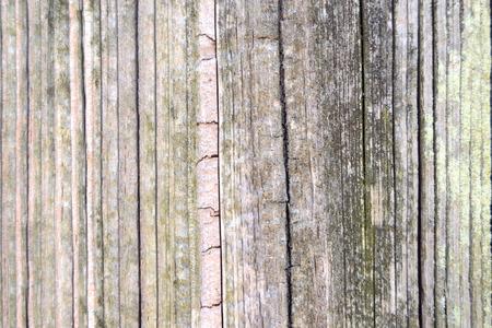 Split Post van de Omheining Detail