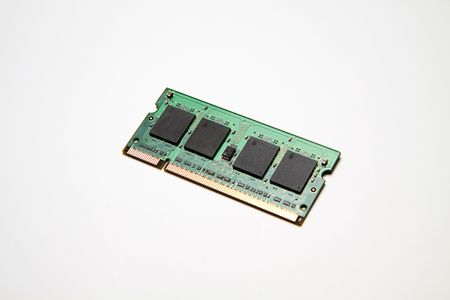 dimm: Laptop Computer Memory Stock Photo
