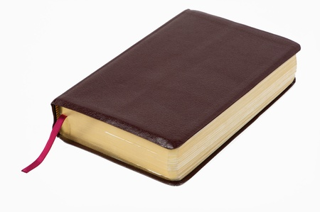 Holy Bible on white background Stock Photo - 11438600