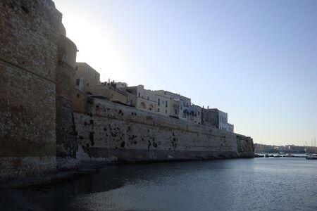 Otranto, Puglia, Italy, Europe - July 10, 2016