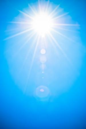 Sun Light with flare photo