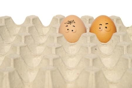drawed egg
