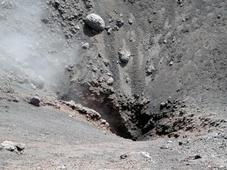 vulcano: Vulcano Etna in sicily, italy