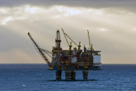 Oil industry in NorwayGullfaks oil field, norway