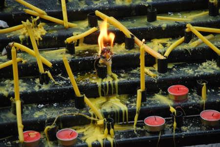 firing: Firing candle