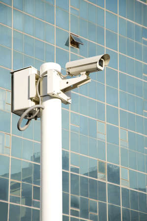 close circuit camera: Independent security cameras in the city