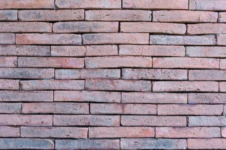 벽돌 벽의 질감의 배경