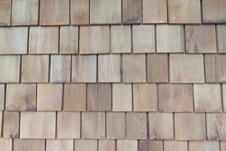 Wooden shingle background