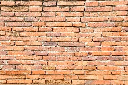 red brick wall: Red brick wall seamless background.