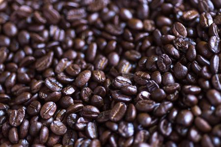 커피 콩 배경, 선택적 포커스 스톡 콘텐츠