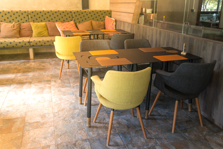 Classic styled restaurant interior