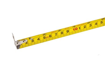 tape measure isolated on white background Stock Photo - 21059876