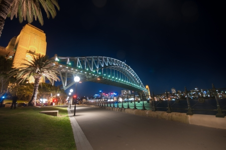 ydney Harbour, is the natural harbour of Sydney, New South Wales, Australia. The harbour is an inlet of the South Pacific Ocean.
