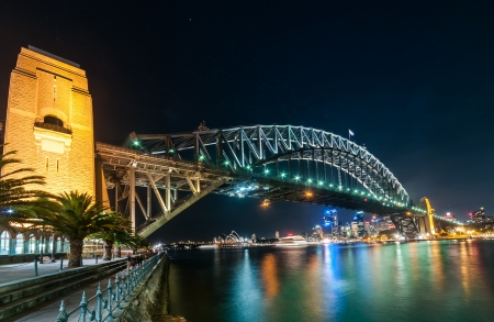 This image shows the Sydney Skyline as seen from Milsons Point, Australi