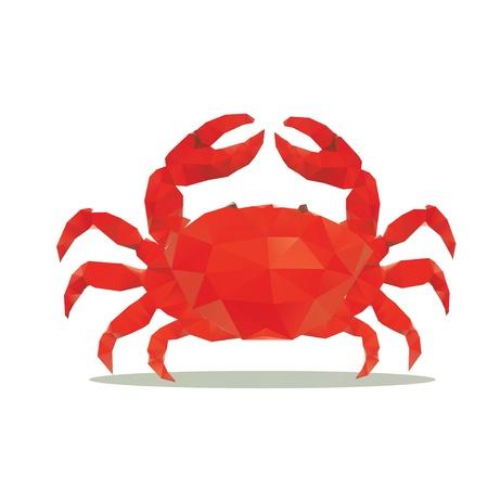 arthropod: crab polygon