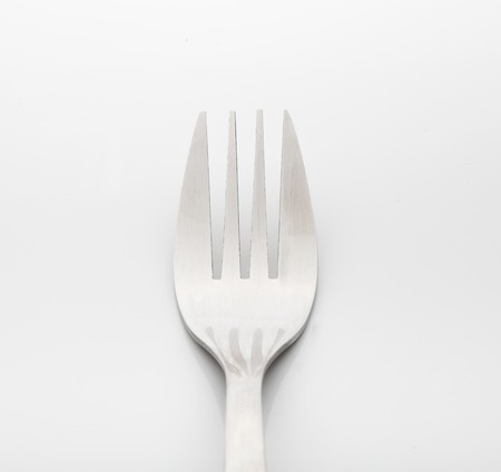 Fork isolated. Kitchen accessories close up