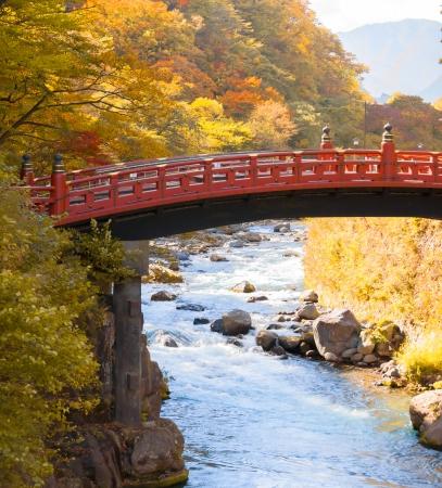 Shinkyo Bridge in Nikko photo