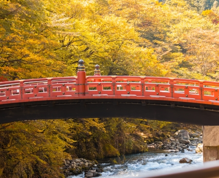 Shinkyo Bridge in Nikko photo